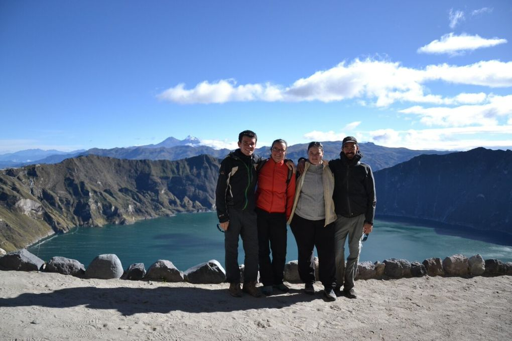 Trois semaines entre amis: Galapagos, Andes, Amazonie et volcans