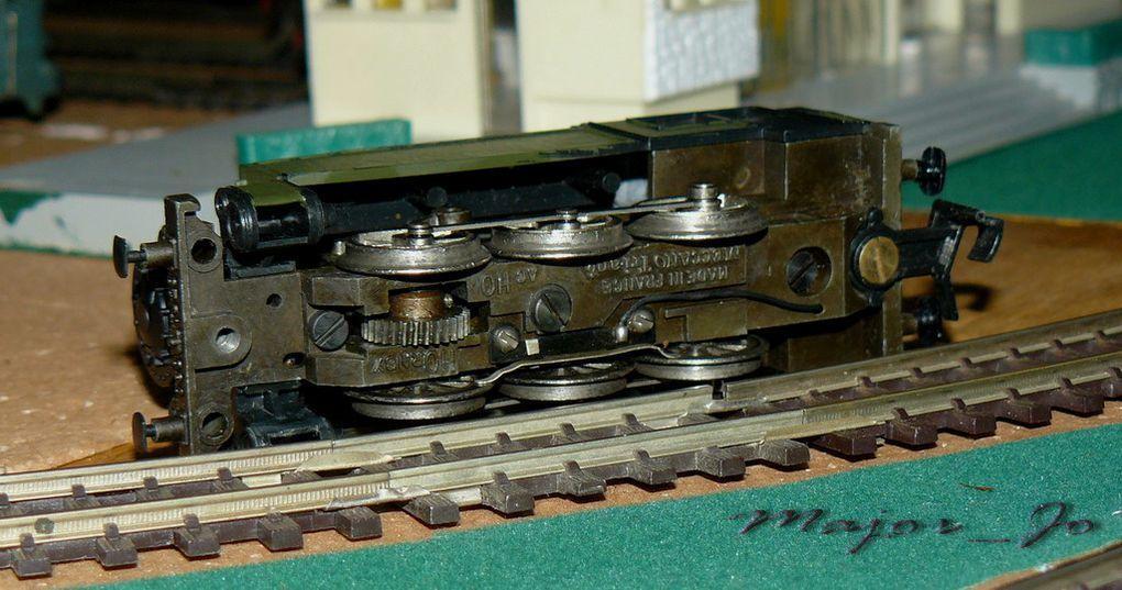 LOCO VAPEUR TENDER 030 TU - REF. 6365