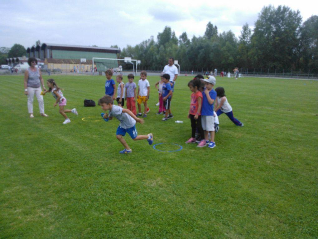 Les olympiades 2014 de l'école, au stade Promis