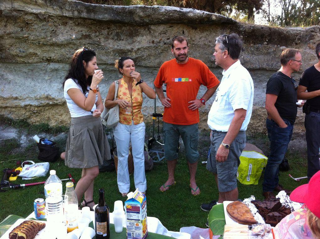 Goûter de rentrée 2014 sous le soleil - Jardin Botanique