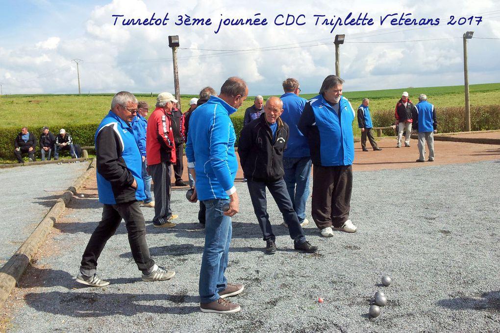 Turretot 3ème journée CDC Triplette Vétérans