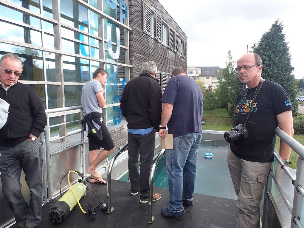 Inauguration du Bassin Mobile FFESSM du Finistère