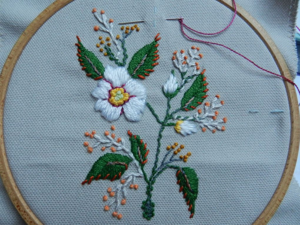 Broderie !!