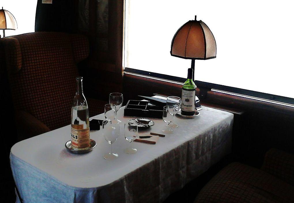 Voyage à bord de l'Orient Express
