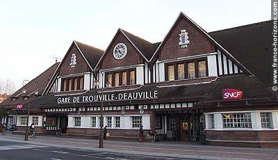 DEAUVILLE, une station créée de toute pièce en 1860.