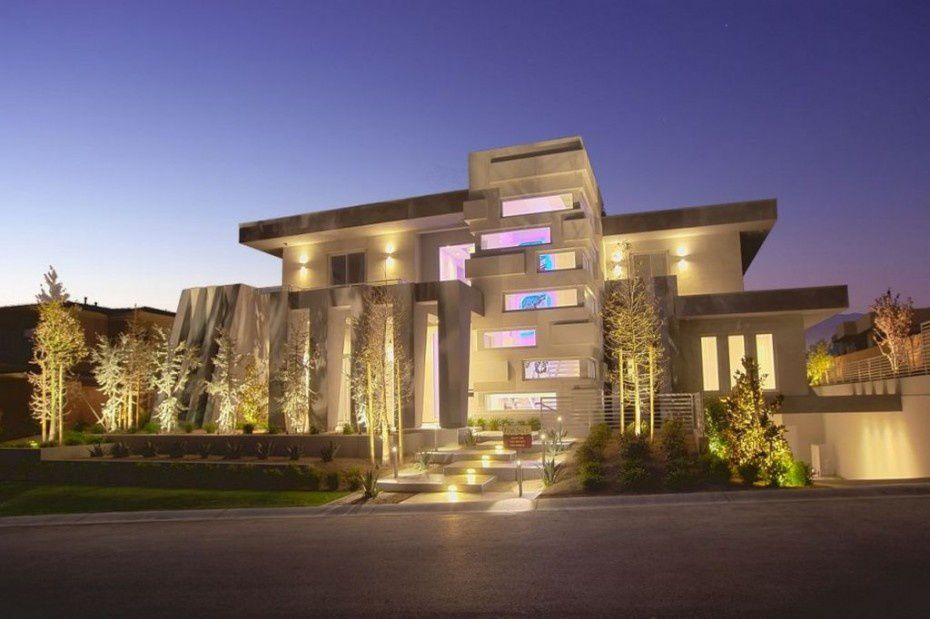 Design architectural beautiful houses