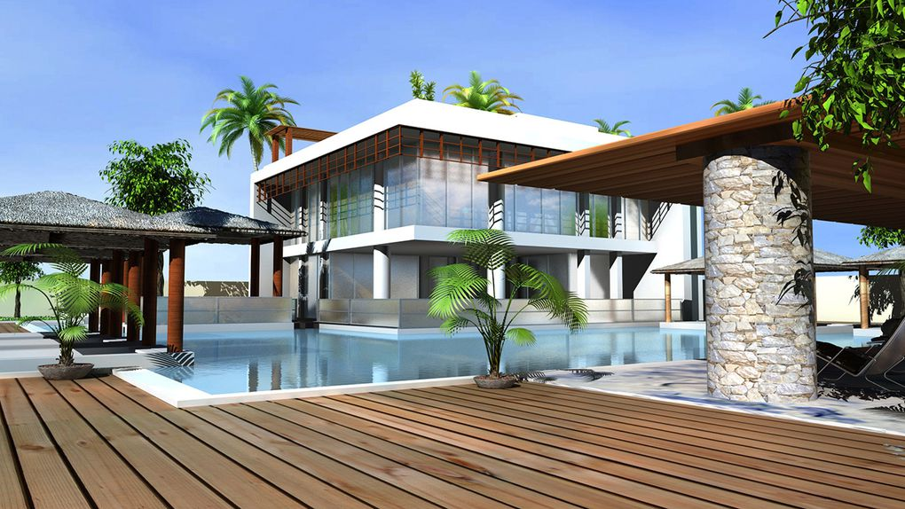 Design 3D villas