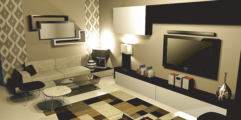 Design 3d  living room
