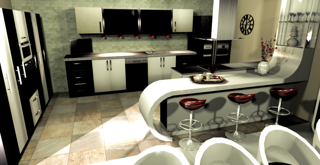 Design 3 D interieur
