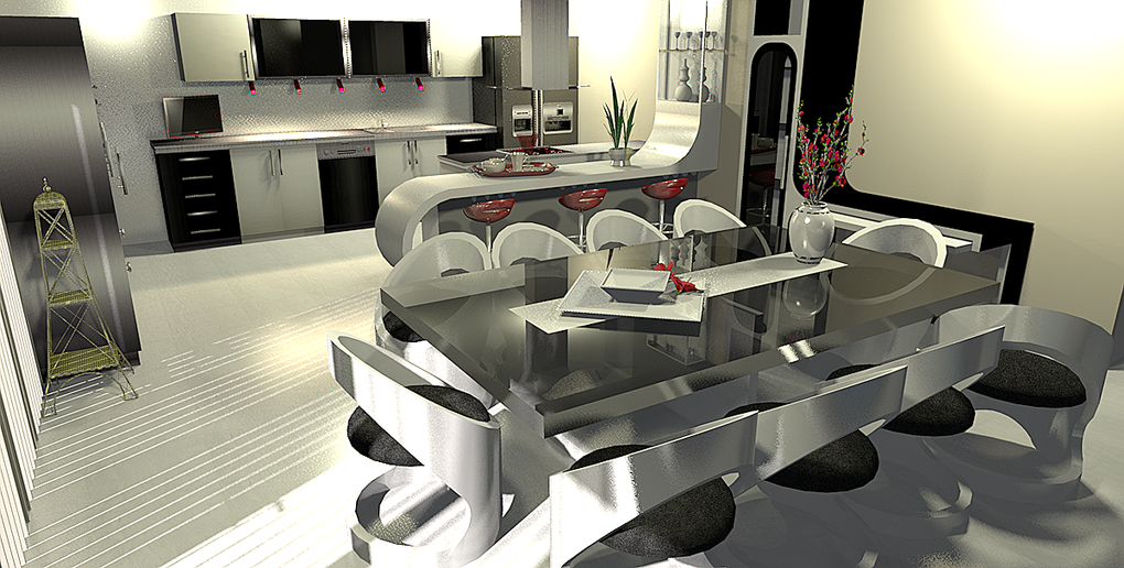 Design 3 d interieur la maison de miss sandra for Maison interieur 3d