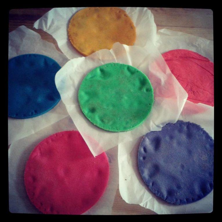 The Rainbow cake !!!!