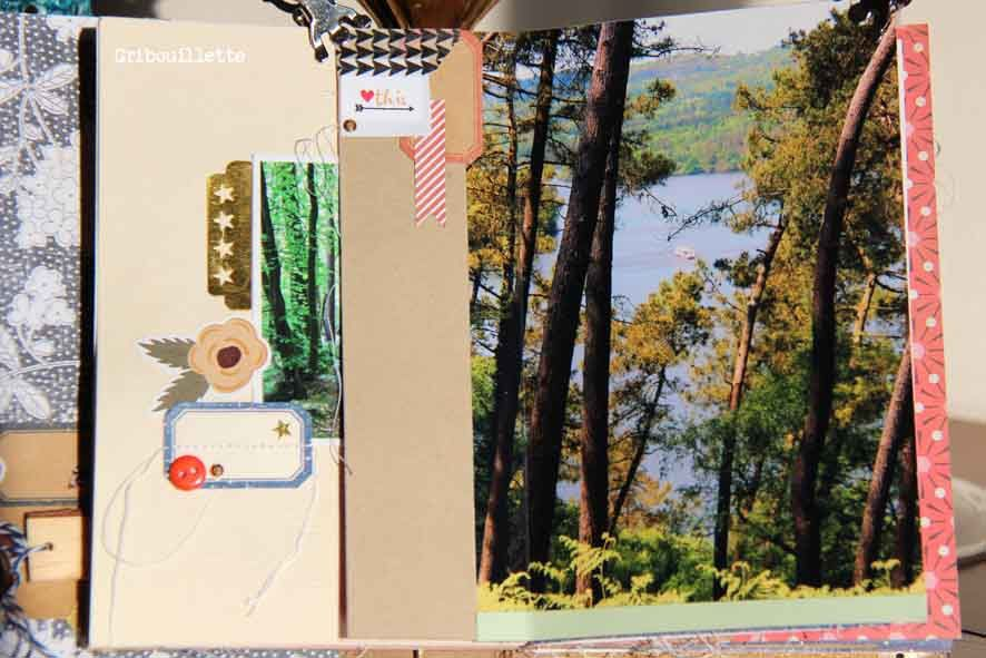 Mini-album &quot&#x3B;Balade à Guerlédan&quot&#x3B;
