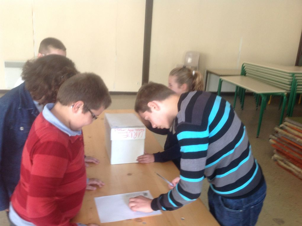les scrutins dans les classes