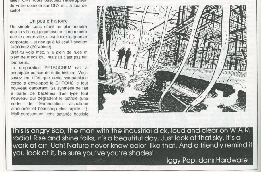 Fanzine Story : Low tech / High life with On The Edge &amp&#x3B; A-ØØ®TE, Cyberpunk Power !