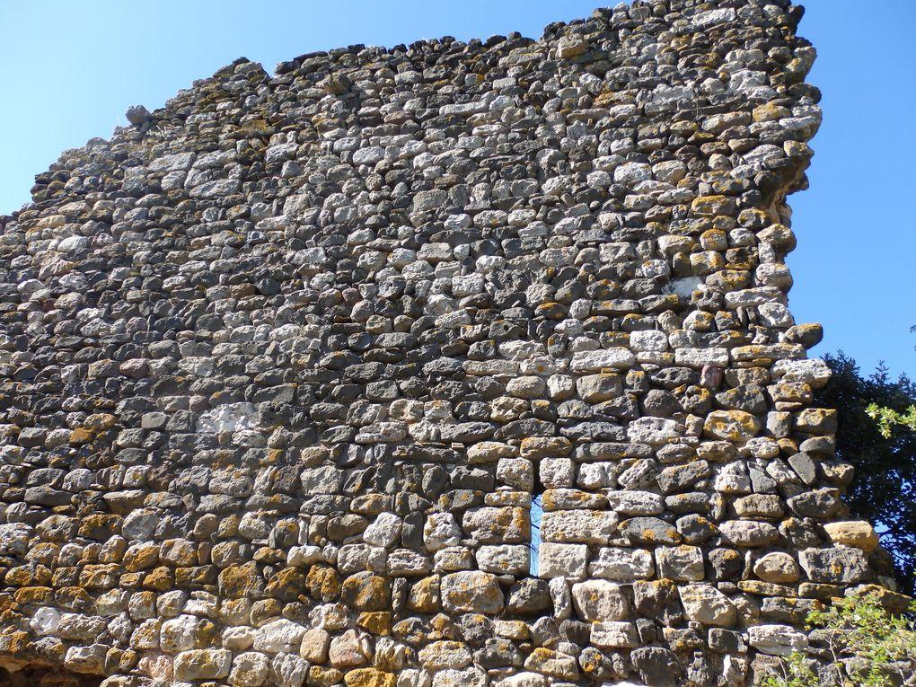 Maders, castrum abandonné du XIè dans l'Hérault - Fontès
