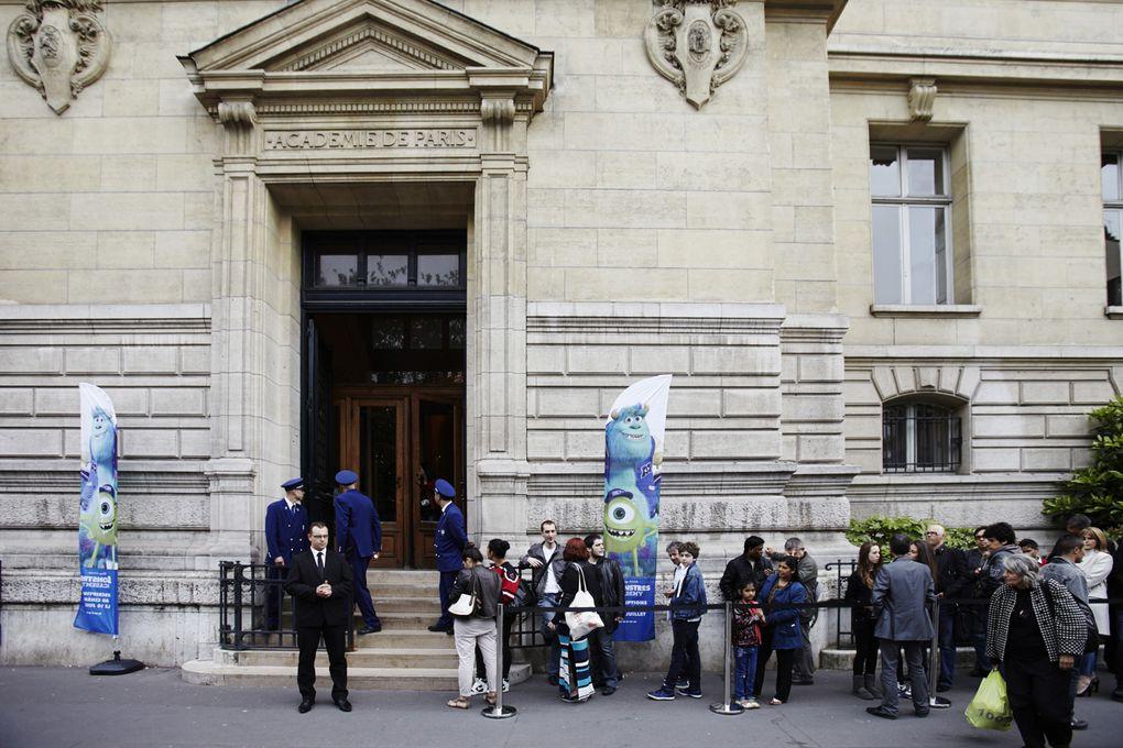 Monstres Academy : les photos de l'avant première à la Sorbonne !
