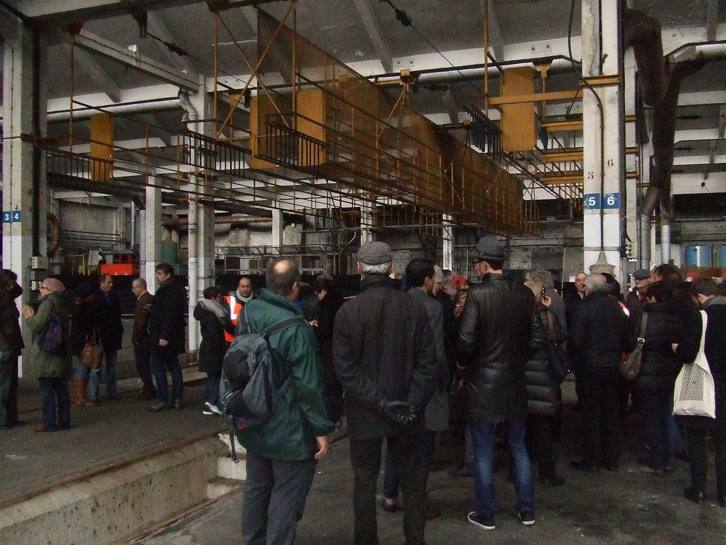 Ordener-Poissonniers : visite du site et de ses bâtiments - Comité de suivi du 12.12.2015 - Photos ASA PNE