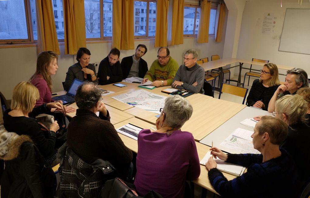 Projet Hébert : atelier participatif du 23 février 2017  -  Photos J.C.N'Diaye