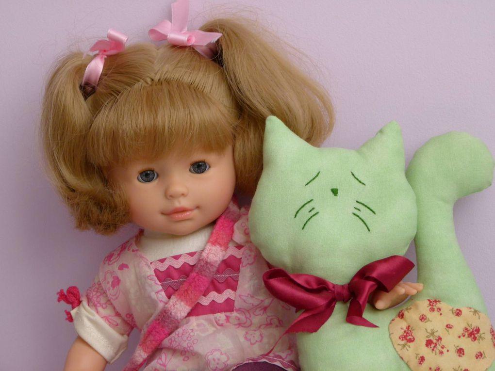 Patchwork - Trois petits chats