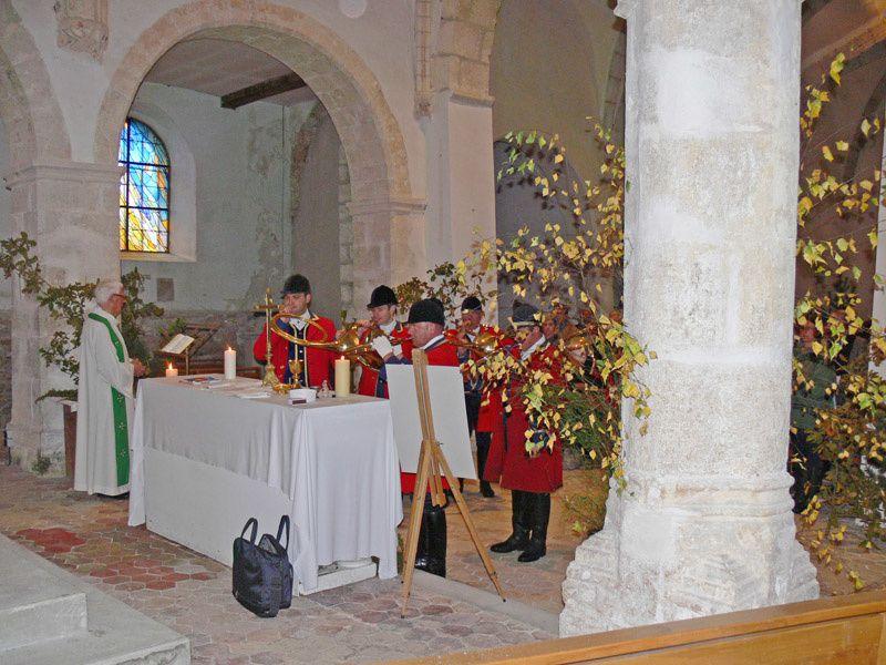 Le Vaudoué visité par Saint Hubert