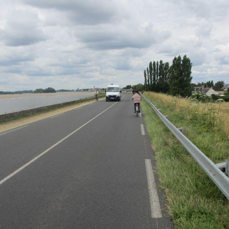 Eurovélo6 - Loire à vélo: de Gennes à La Daguenière (22 km) en passant par &quot&#x3B;l'enfer&quot&#x3B; de la Bohalle