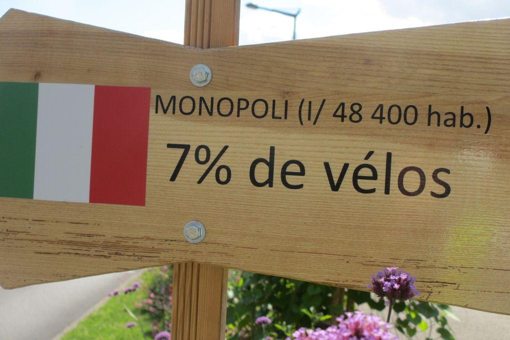 Quand une ville moyenne compare sa part-modale vélo à d'autres...