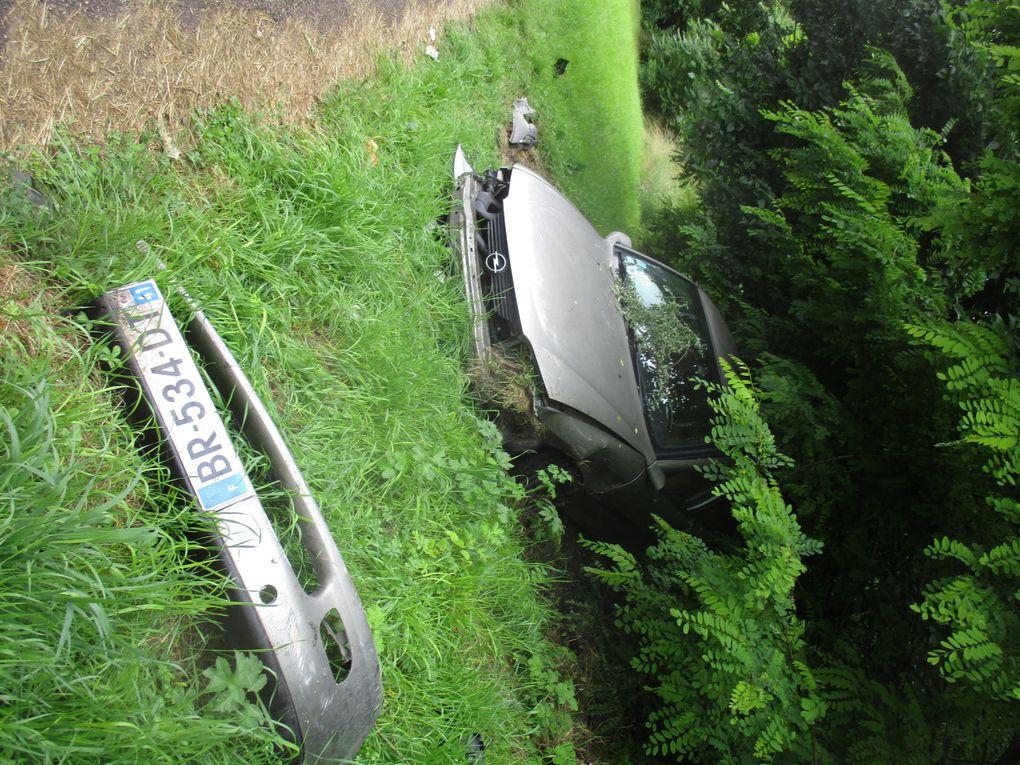 Sortie de route -Blois bd Daniel Dupuis - RD202