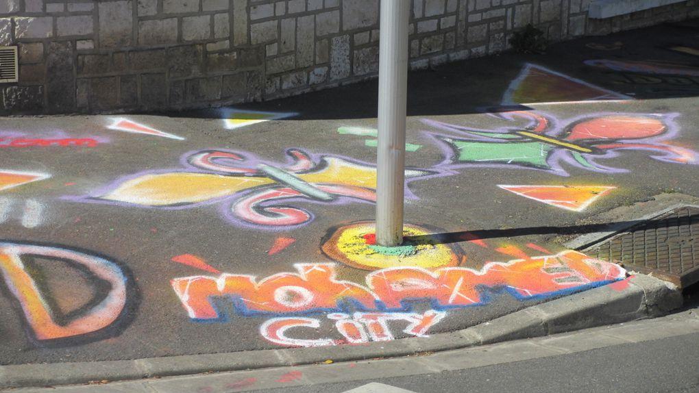 L'art de la rue s'expose sur des trottoirs de Blois !