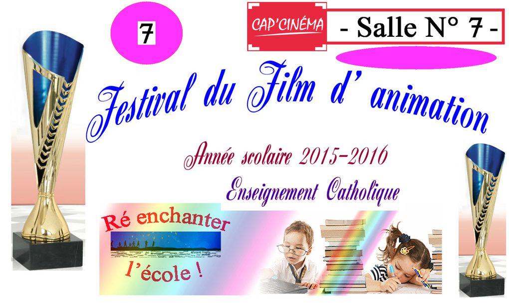 1er Festival du Film d'animation 2015-2016
