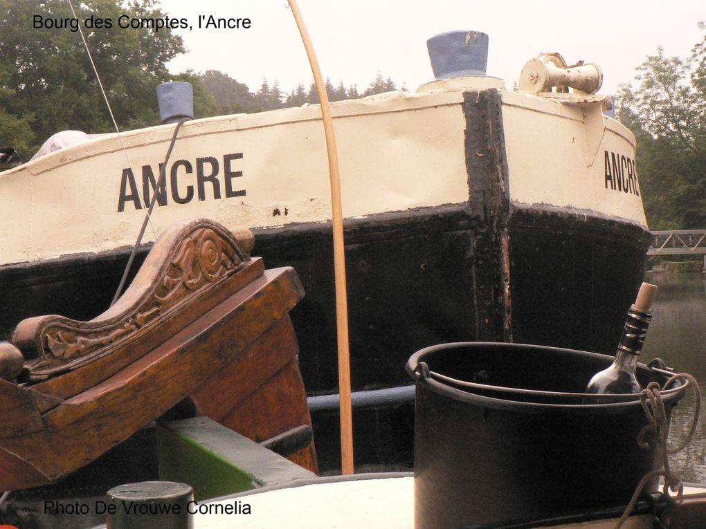 """juillet 2013, """"canal"""" Manche-Océan, tjalk De Vrouwe Cornelia: Vilaine, Ille et Rance"""