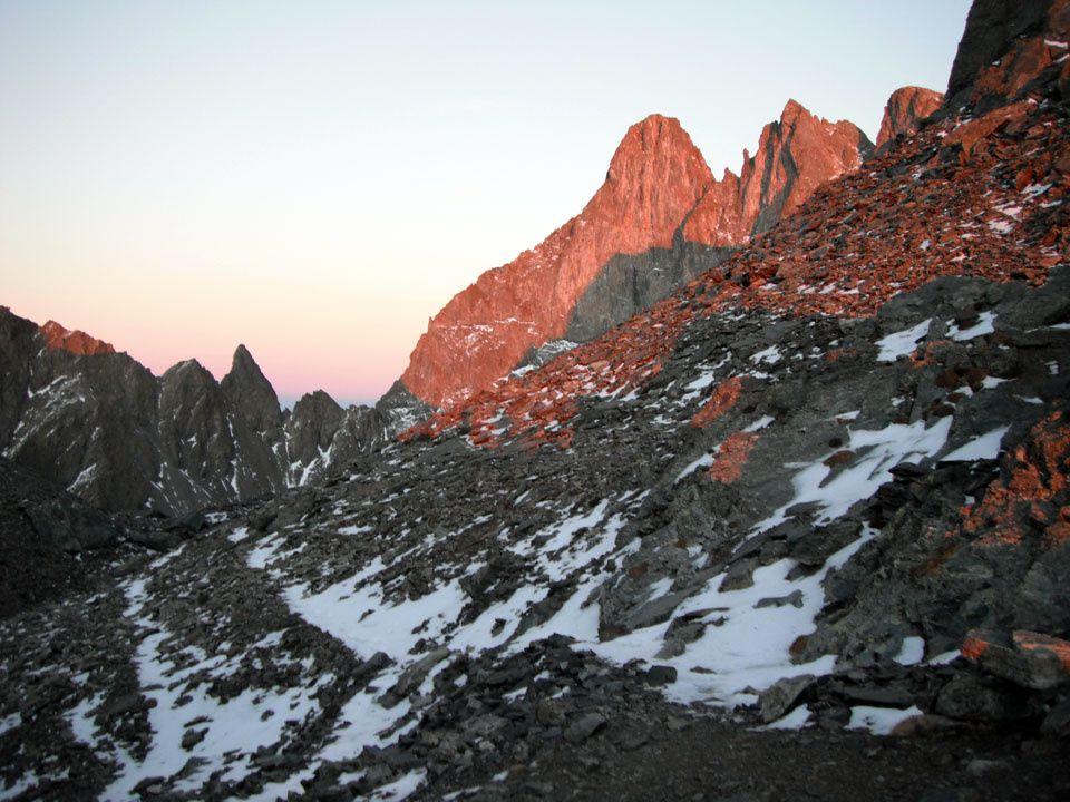 Traversée du Grand Pic de Belledonne 2977m
