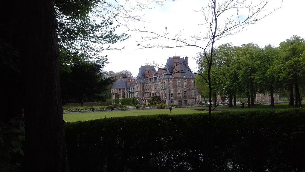 Le château de Courances