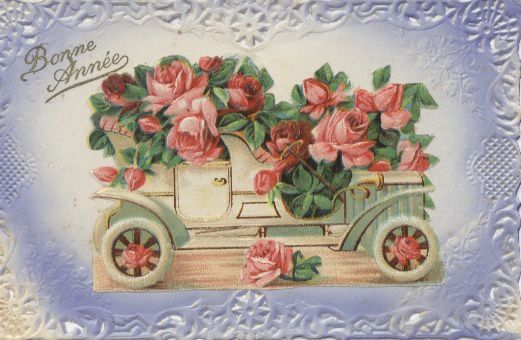Vous pouvez même reconnaitre ce dernier bouquet. Bonne année