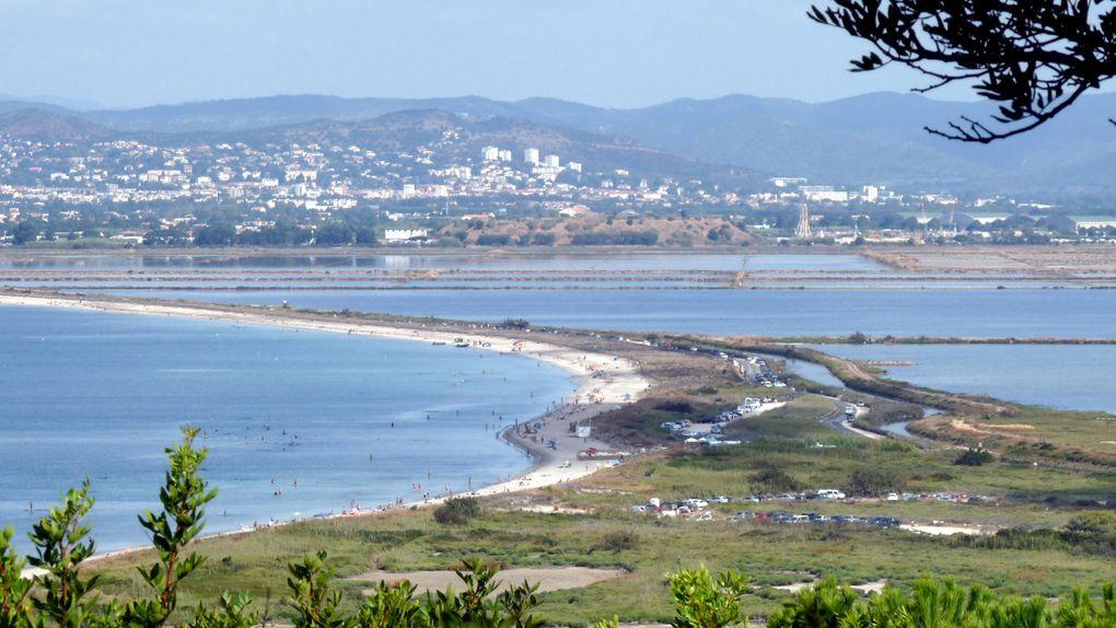 Vues panoramiques sur la presqu'île de Giens.