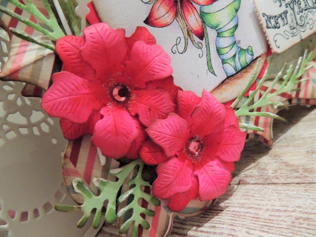 ...gros plan sur les fleurs...