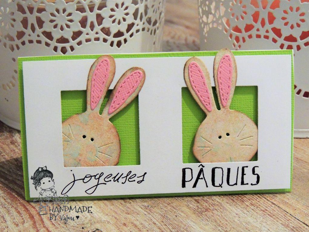 Quelques cartes de Pâques ..en Magnolia ...