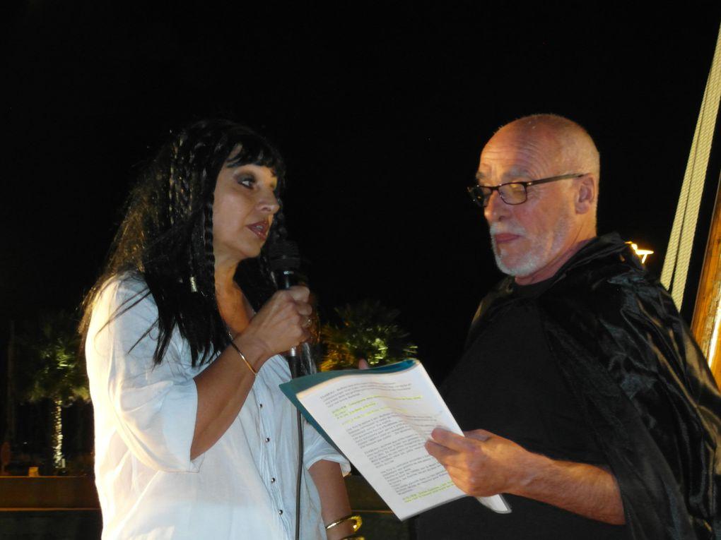 """Mardi 13 août 2013 - La troupe des """"Cent talents"""" et la catalane centenaire ..."""