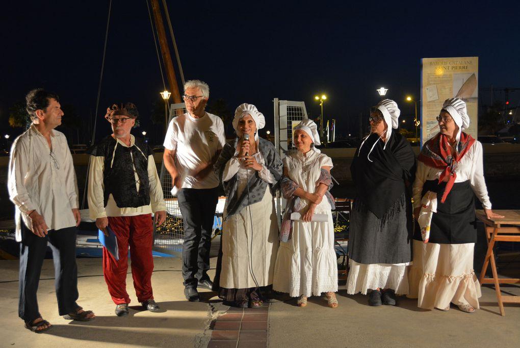 """Mardi 22 juillet 2014 - La troupe des """"Cent Talents"""" et la Catalane centenaire ..."""