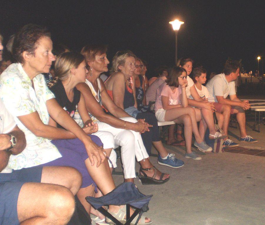 """Mardi 04 août 2015 - La troupe des """"Cent talents"""" & la Catalane centenaire ..."""