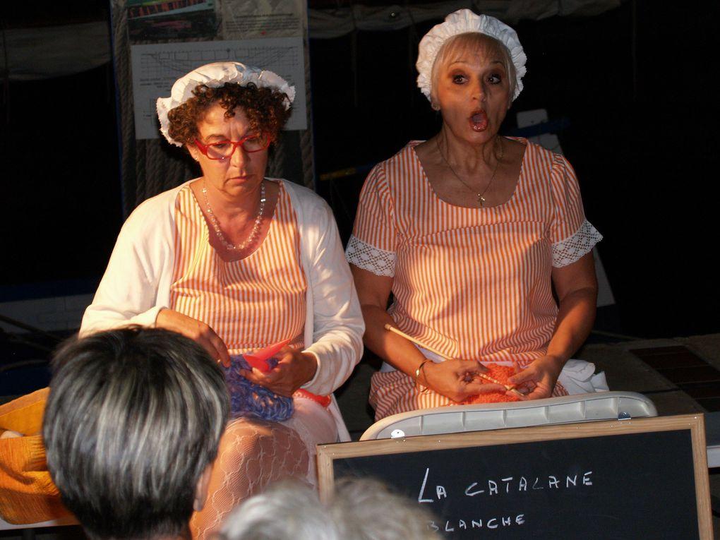 """Mardi 25 août 2015 - La troupe des """"Cent talents"""" & la Catalane centenaire ..."""