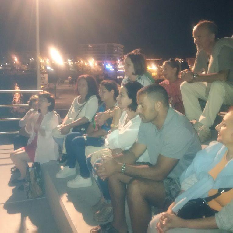 Balade contée ... sur le quai .. rive gauche ... à Palavas-les-Flots ... avec Kamel GUENOUN ...................... en ce dimanche 30 août 2015