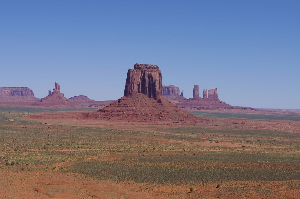 USA Road Trip - Jour 13/25 - Monument Valley Navajo Tribal Park - Goosenecks State Park - Moab