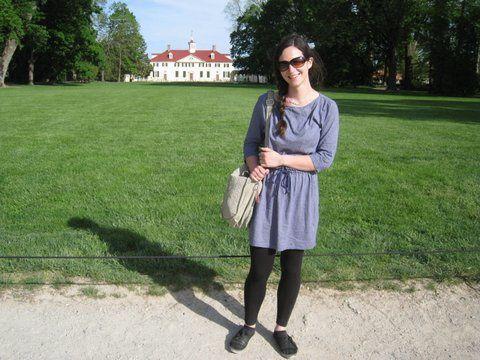 Début mai, Mount Vernon, Virginie, où se trouvent la demeure et la tombe de George Washington.