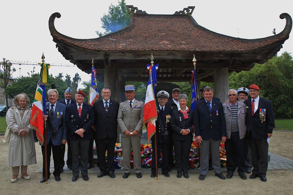 Cérémonie du 08 juin au pagodon de Dinan