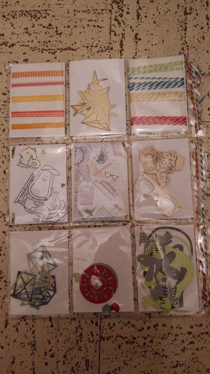 Pocket reçue thème de la rentrée par Catherine Sagette et la pocket que j'ai envoyée