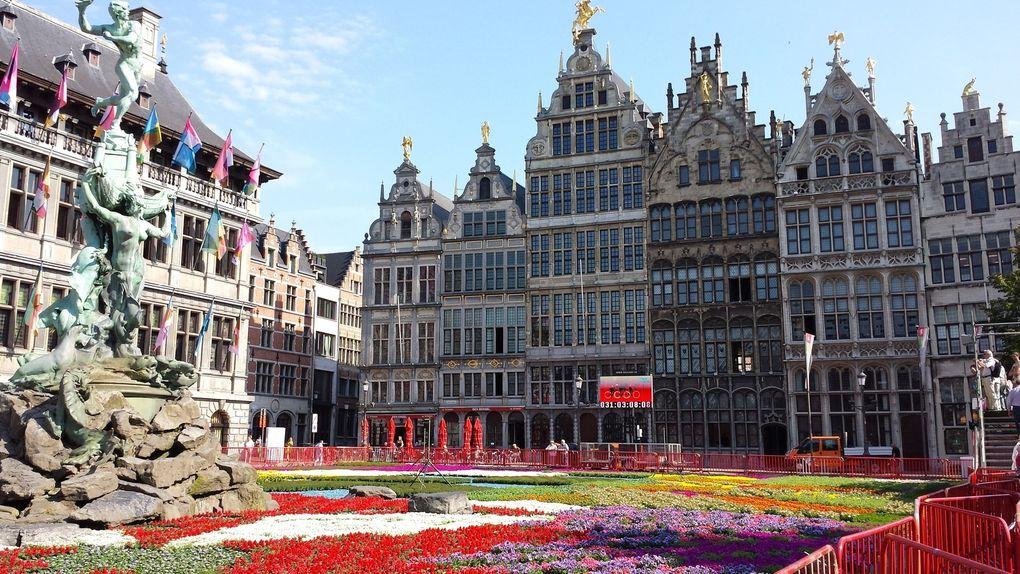 Quelques photos du séjour à Anvers
