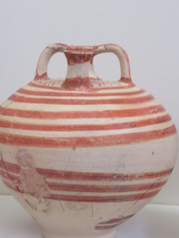 Certaines des oeuvres exposées dans le Musée archéologique