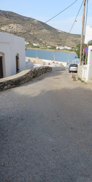 La route qui va de l'hôtel au port... et vice-versa !
