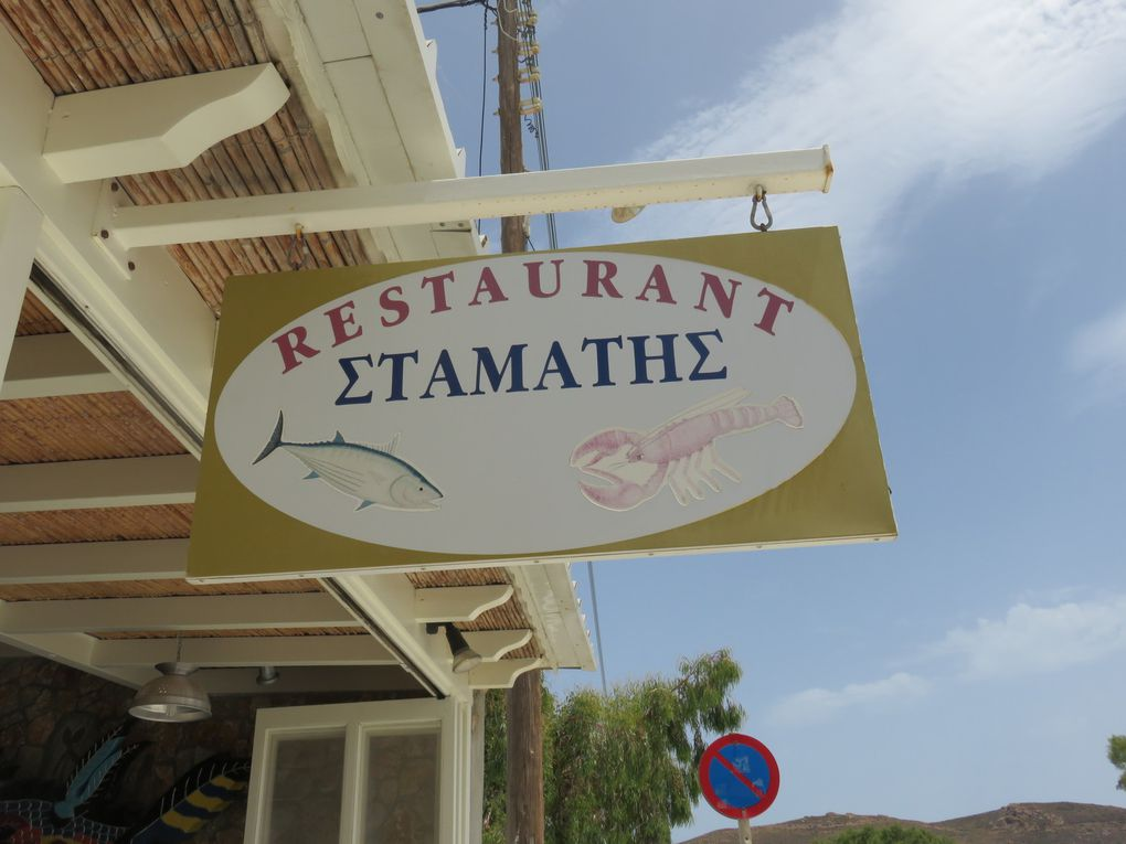La Taverne Stamati et son patron aux yeux bleus comme mon père...