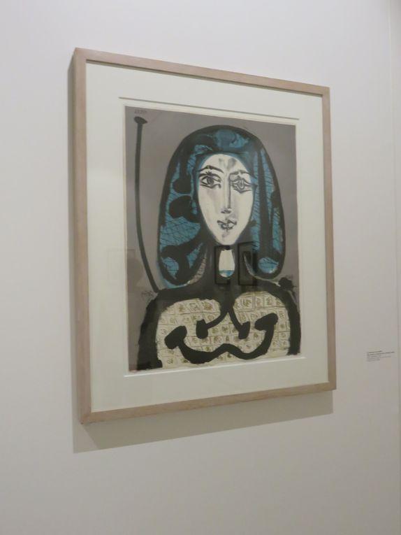 Picasso a consacré une place importante aux femmes de sa vie... (et à d'autres !)